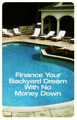 financing for a pool